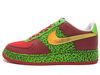 AIR FORCE 1 LOW SUPREME I/O questlove 318931-671 (varsity red/mtllc gold-mn grn)