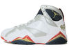 "AIR JORDAN 7 RETRO 2010 OLYMPIC ""for the love of the game"" 304775-103 (white/mtllc gold-tr rd-mid nvy)"